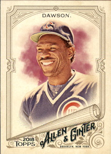Photo of 2018 Topps Allen and Ginter #25 Andre Dawson