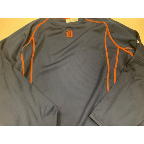 Photo of 2016 Team-Issued #34 Road Batting Practice Sweatshirt