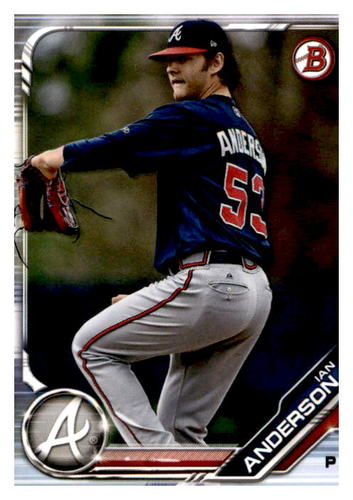 Photo of 2019 Bowman Prospects #BP47 Ian Anderson