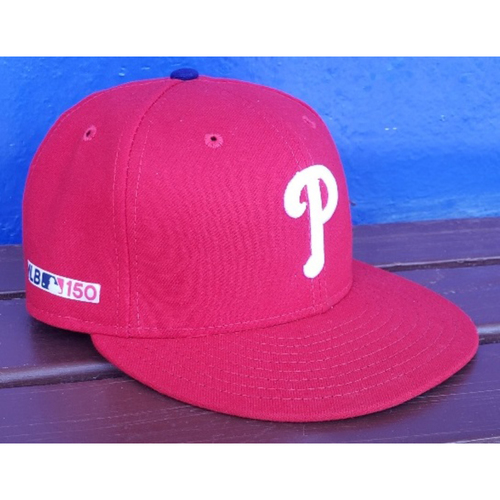 Photo of 2019 Aaron Nola Game-Used Opening Day Cap