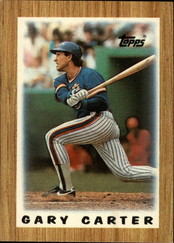 Photo of 1987 Topps Mini Leaders #20 Gary Carter DP