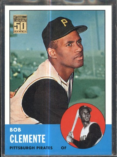 Photo of 2001 Topps Through the Years Reprints #19 Roberto Clemente '63