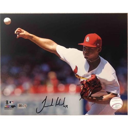 Photo of Cardinals Authentics: St. Louis Cardinals Jordan Hicks Autographed Photo
