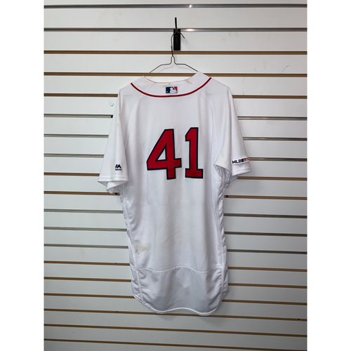 Photo of Chris Sale Game Used July 18, 2019 Home Jersey - 4th Win of the Season, 12 Ks