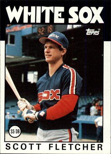 Photo of 1986 Topps #187 Scott Fletcher
