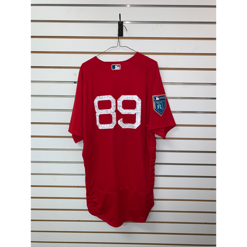 Photo of #89 Team Issued 2018 Spring Training Jersey