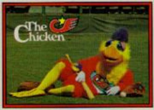 Photo of 1982 Donruss #531B San Diego Chicken