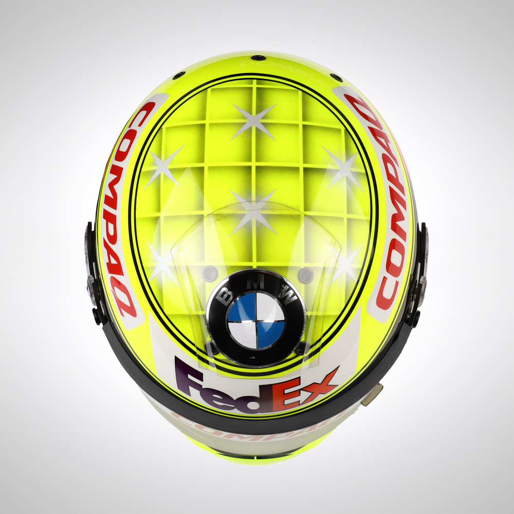 Ralf Schumacher 2001 Promotional    Test Helmet