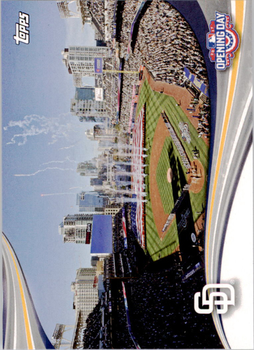 Photo of 2017 Topps Opening Day Opening Day #ODB9 San Diego Padres