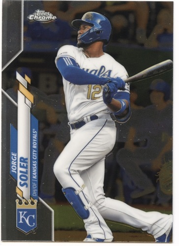 Photo of 2020 Topps Chrome #20 Jorge Soler