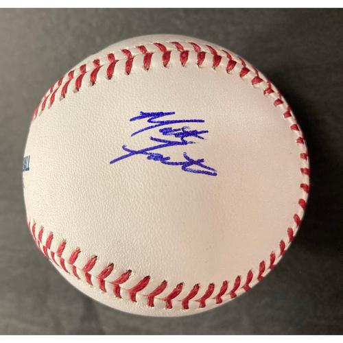 Matt Foster Autographed Baseball