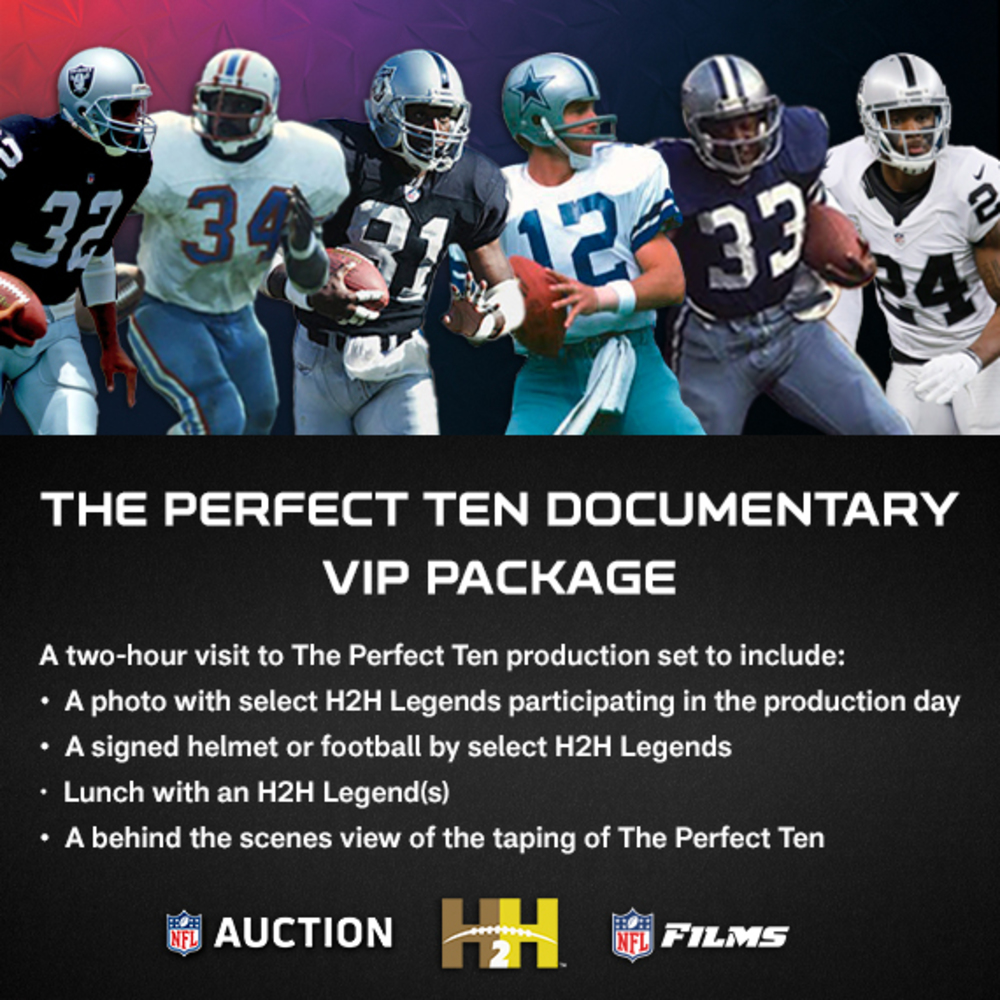 The Perfect Ten Documentary VIP Package