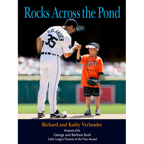 Photo of Detroit Tigers Rocks Across The Pond Autographed by Richard and Kathy Verlander