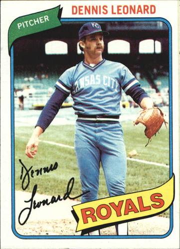 Photo of 1980 Topps #565 Dennis Leonard