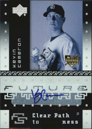 Photo of 2007 Upper Deck Future Stars #122 Kevin Cameron AU RC