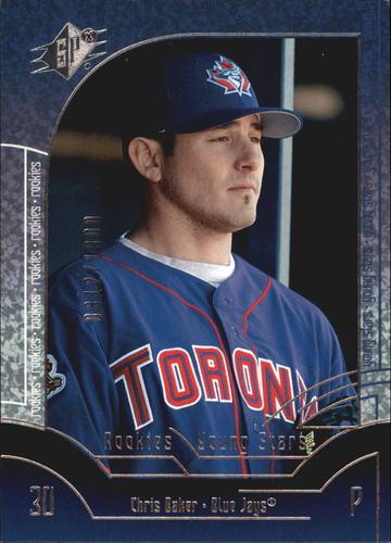 Photo of 2002 SPx #97P Chris Baker YS RC