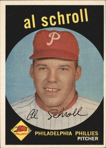 Photo of 1959 Topps #546 Al Schroll