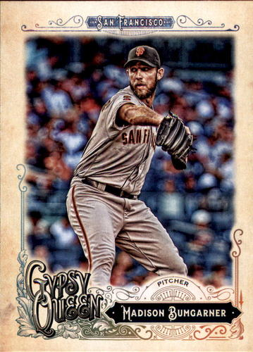 Photo of 2017 Topps Gypsy Queen #63 Madison Bumgarner