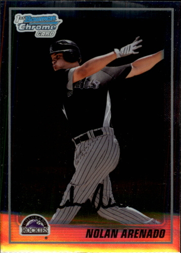 Photo of 2010 Bowman Chrome Prospects #BCP91A Nolan Arenado