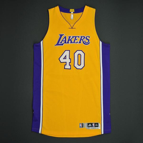 Los Angeles Lakers #40 Ivica Zubac Statement Purple Swingman Jersey