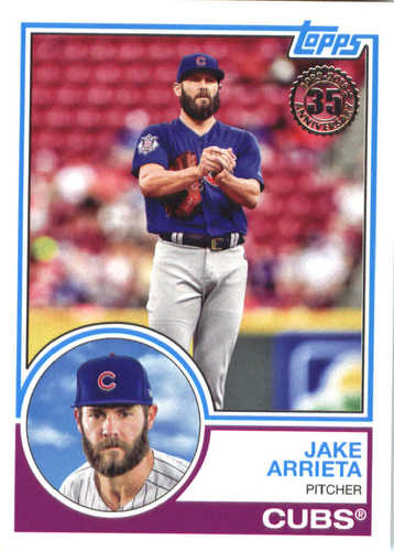 Photo of 2018 Topps '83 Topps #8321 Jake Arrieta