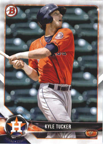 Photo of 2018 Bowman Prospects #BP55 Kyle Tucker