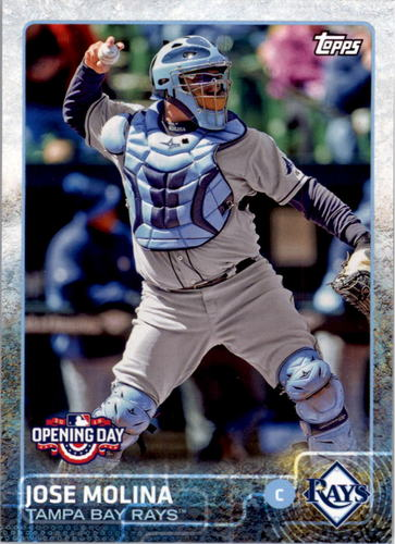 Photo of 2015 Topps Opening Day #133 Jose Molina