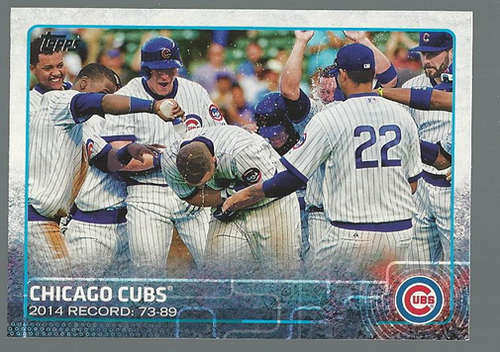 Photo of 2015 Topps #196 Chicago Cubs
