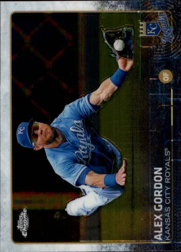 Photo of 2015 Topps Chrome #30 Alex Gordon