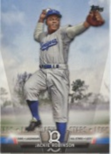 Photo of 2018 Topps Update Salute #S3 Jackie Robinson