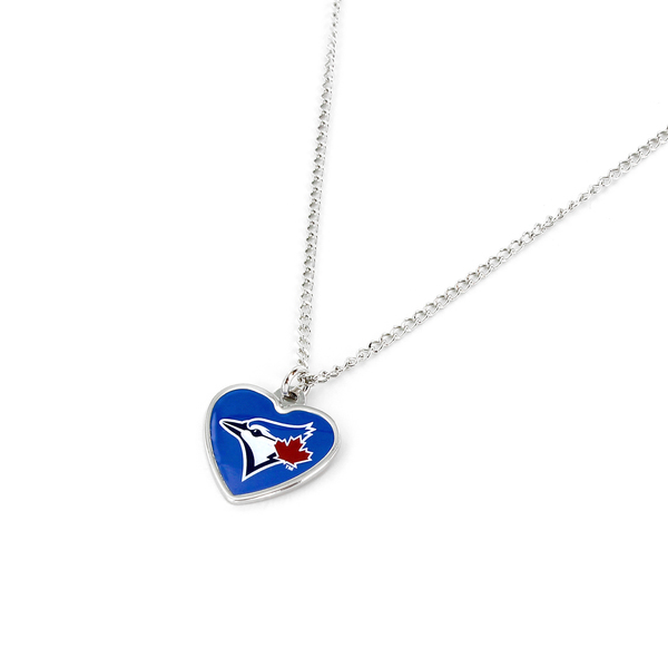 Toronto Blue Jays Heart Tag Necklace by Aminco