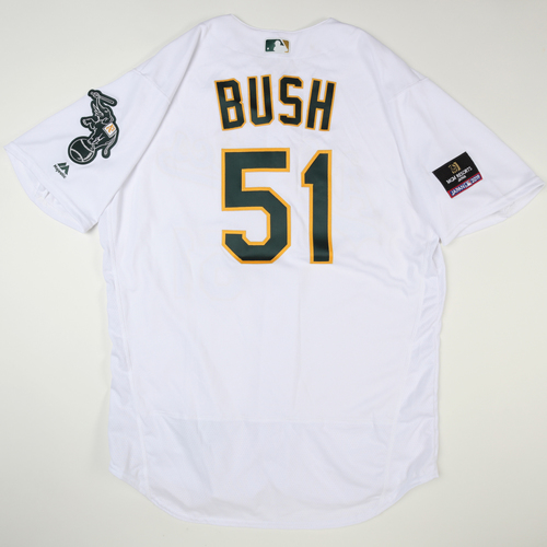 Photo of 2019 Japan Opening Day Series - Game Used Jersey - Darren Bush, Seattle Mariners at Oakland Athletics -3/20/2019