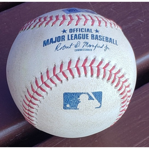 Photo of 2019 Bryce Harper Base Hit - Single (first hit surrendered by Genesis Cabrera)