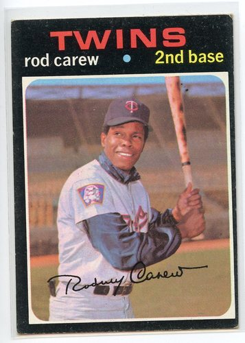 Photo of 1971 Topps #210 Rod Carew