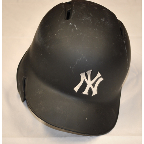 "Photo of Mike ""FORD"" Ford New York Yankees Game-Used 2019 Players' Weekend Helmet"
