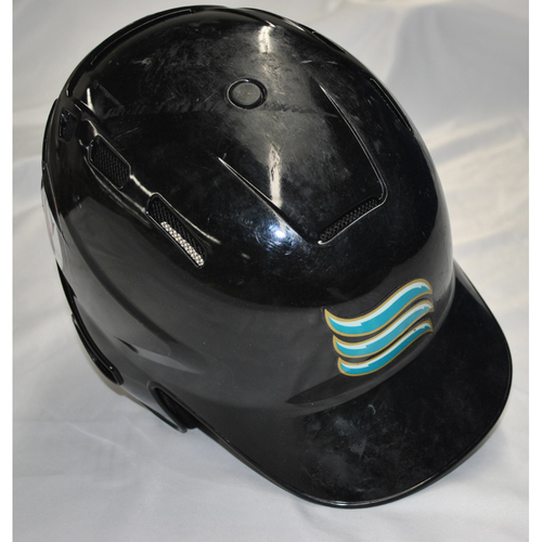 Arizona Fall League - Game-Used Batting Helmet - Player Name: Victor Mesa (MIA) - Jersey Number: 10