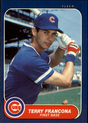 Photo of 1986 Fleer Update #43 Terry Francona