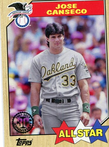 Photo of 2017 Topps '87 Topps #87130 Jose Canseco
