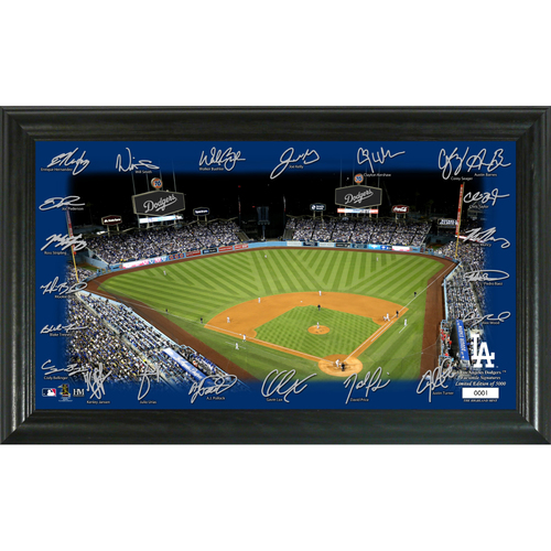 Photo of Los Angeles Dodgers 2020 Signature Field Limited Edition Frame