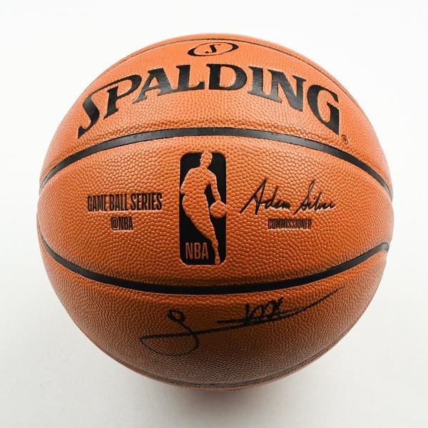 Image of Sekou Doumbouya - Detroit Pistons - 2019 NBA Draft Class - Autographed Basketball