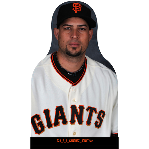 Photo of Giants Community Fund: Giants Jonathan Sanchez Cutout