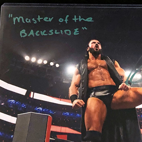 Drew McIntyre SIGNED SummerSlam Edition 8x10 Photo (1 of 33)