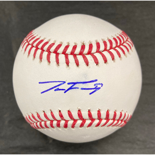 Photo of Jace Fry Autographed Baseball