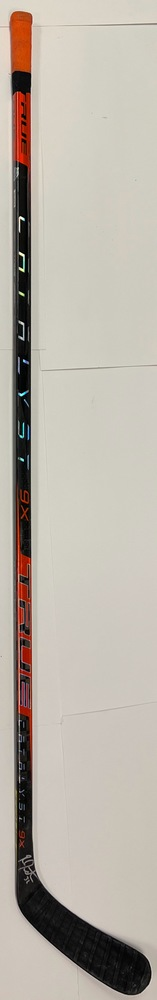 #32 Ross Johnston Game Used Stick - Autographed - New York Islanders