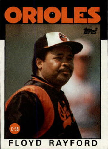Photo of 1986 Topps #623 Floyd Rayford
