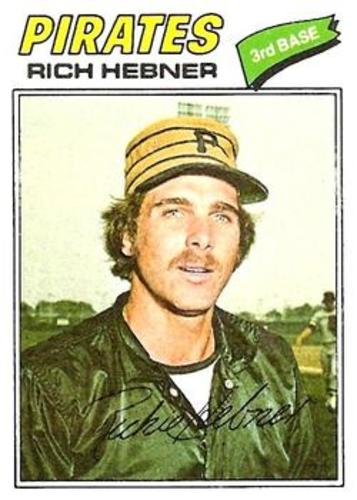 Photo of 1977 Topps #167 Rich Hebner