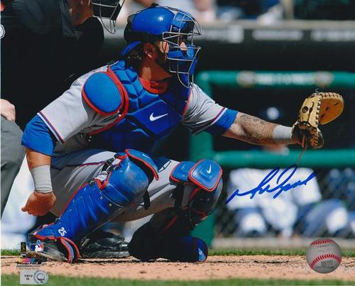 Photo of Mike Napoli Autographed 8x10