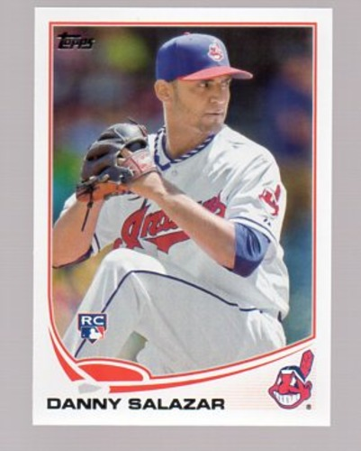Photo of 2013 Topps Update #US138 Danny Salazar Rookie Card