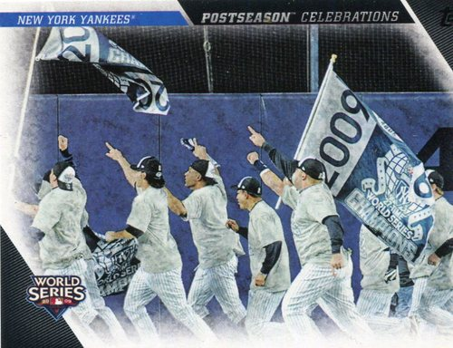 Photo of 2017 Topps Update Postseason Celebration #PC24 New York Yankees