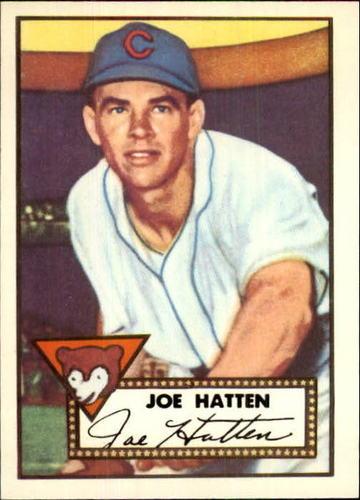 Photo of 1983 Topps 1952 Reprint #194 Joe Hatten